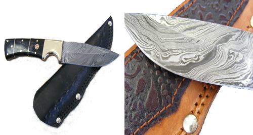 Damascus Steel Custom Made Knives